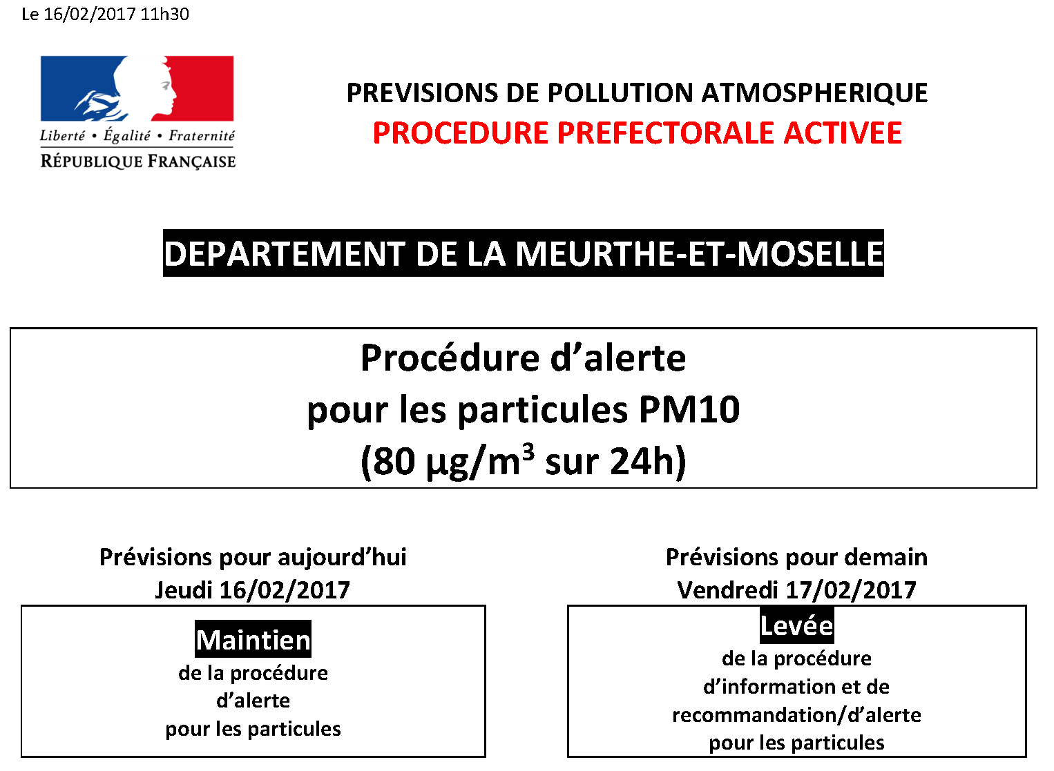 Procedure prefectorale activee chambre d 39 agriculture meurthe et moselle - Chambre d agriculture moselle ...