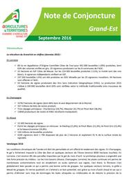 Note de conjoncture grand Est septembre 2016